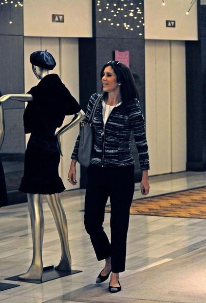 Mary fait du shopping