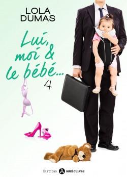 Couverture de Lui, moi et le bébé, tome 4