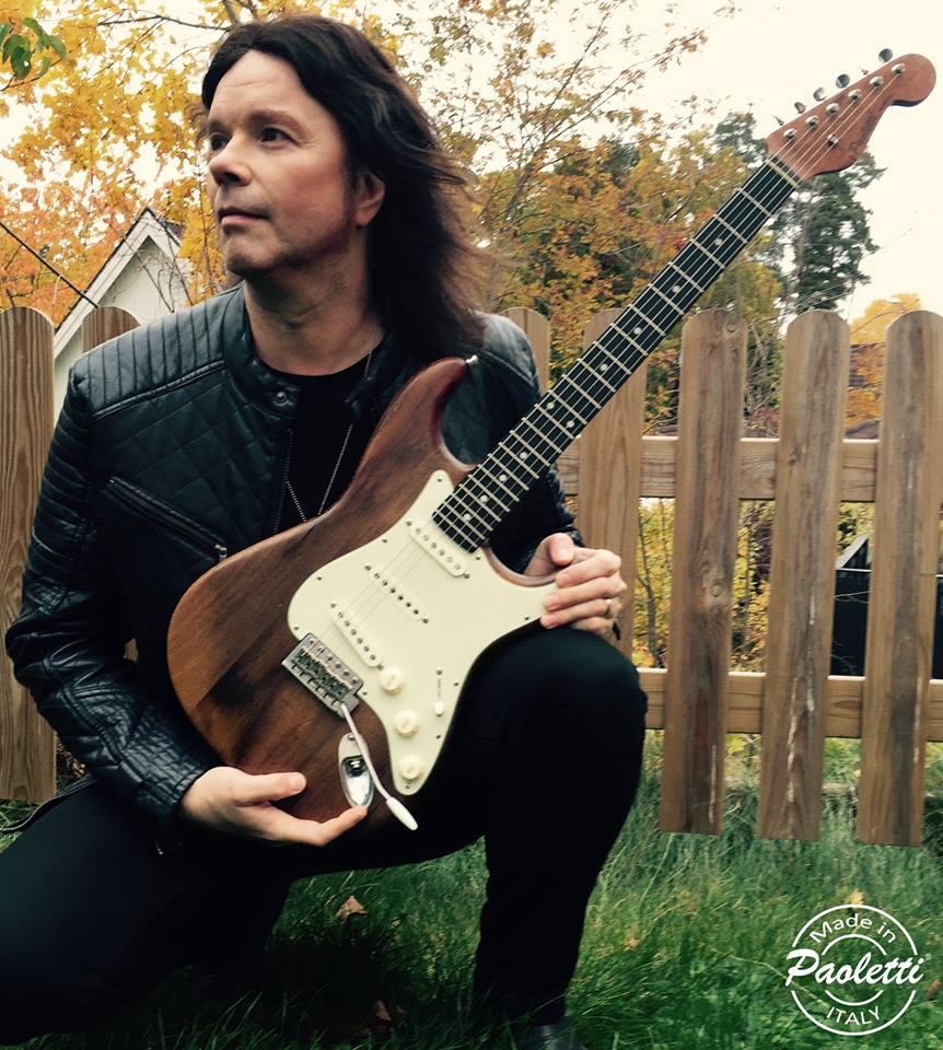John Norum : présentation de sa nouvelle guitare + trailer vidéo de son dvd de guitare