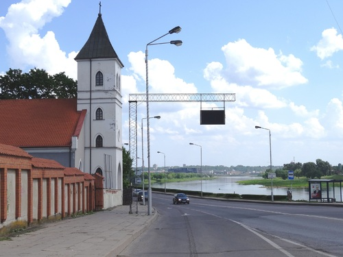 Promenade dans Kaunas en Lituanie (photos)