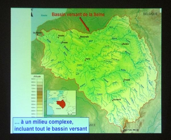 """""""La vie et le rôle des rivières dans notre territoire"""", une conférence de Bernard Frochot pour l'association """"Oui au parc"""""""