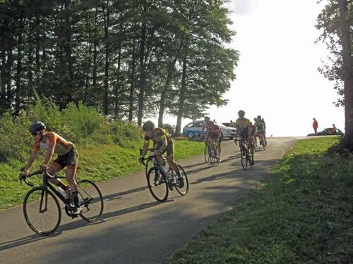 Course cycliste à Vresse