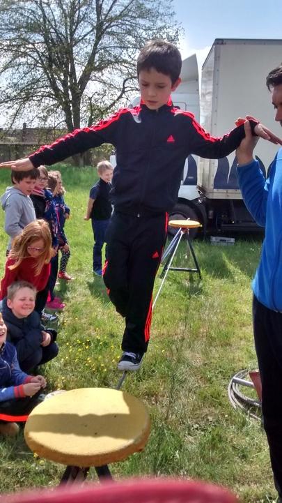 Photos du cirque CE1 - 27 avril