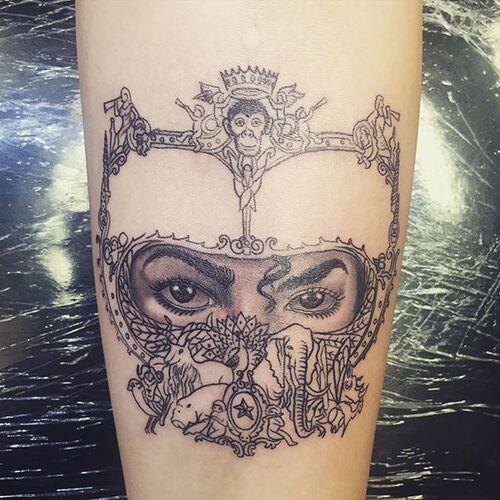 #News Nouveau tatouage pour Paris en l'honneur de son père