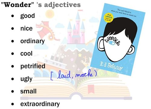 CM2/3 - Don't FORGET ... your adjectives !