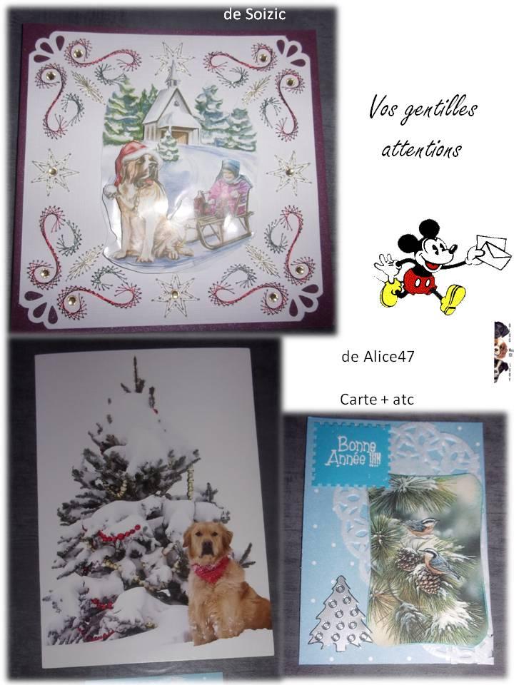 Vos gentilles cartes