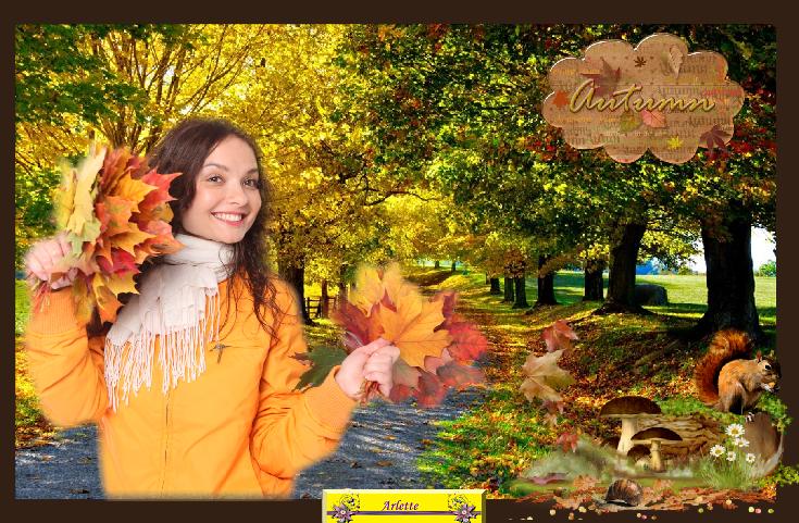 J'aime l'automne....