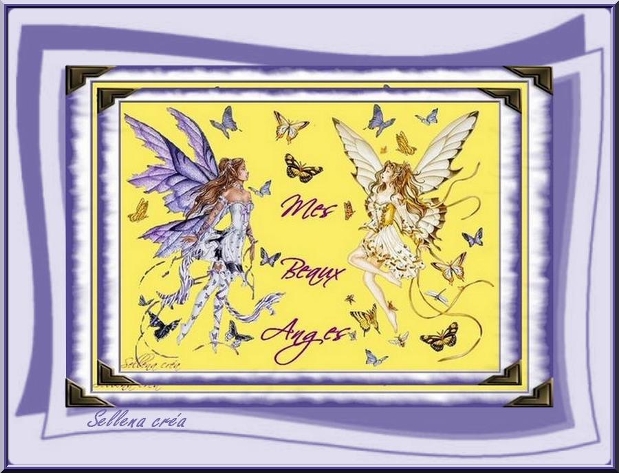Reçois ces deux Anges protecteurs