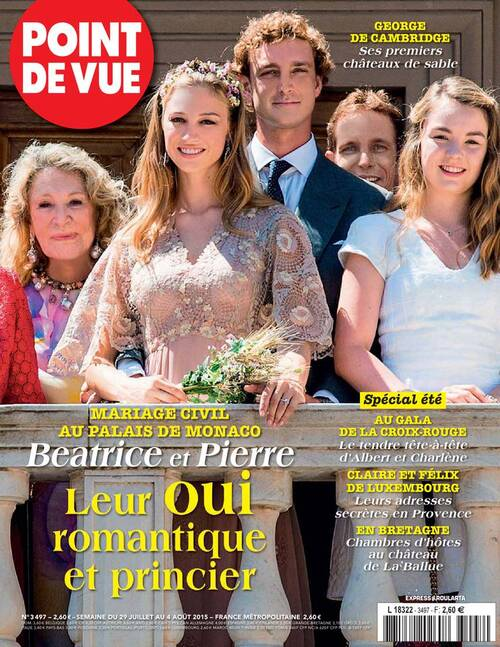 Mariage civil Casiraghi Borromeo