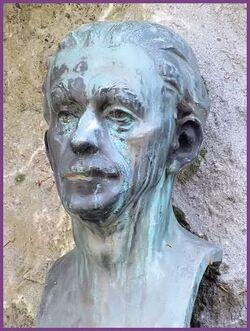 marcel gillis, poete, chansonnier, montois, mons, peintre,patois , les loups, anges de maons,