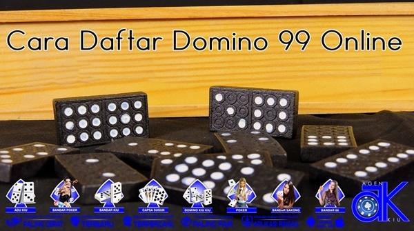 Cara Daftar Domino 99 Online