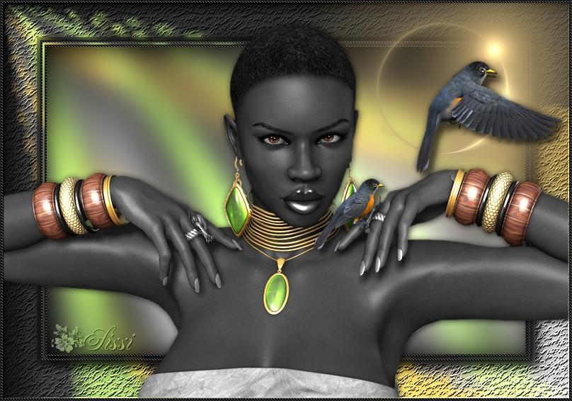 *Princesse Africaine *