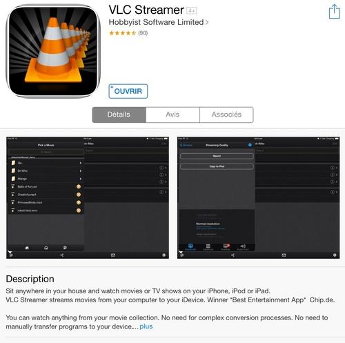 [appli] VLC Streamer