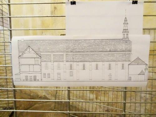Une exposition sur l'abbaye Notre-Dame, présentée par Dominique Masson, Président des Amis du Châtillonnais