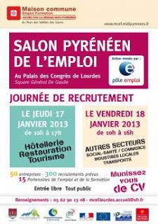 lourdes : Salon Pyrénéen de l'Emploi 2013