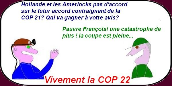 vivement la COP 22