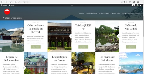 Info Yobun - Wordpress & vacances