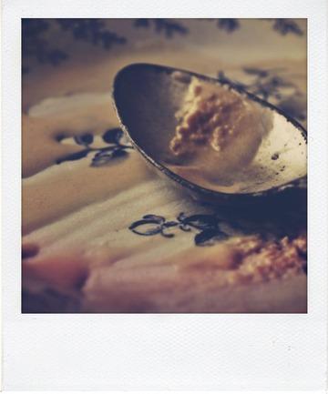Glace au caramel