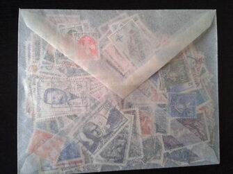 Pochette de 500 timbres de France d'avant 1959