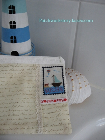 pochette au timbre de l'été 004-001