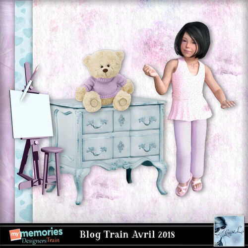 Blog Train Avril  2018