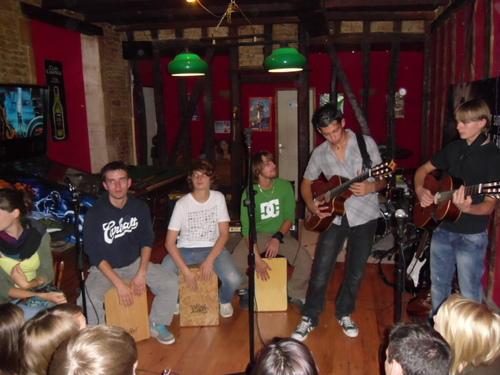 """Concert au bar """" Le Brocéliande"""" le 22 juillet 2011"""