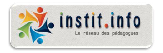 Instit.info : le réseau des pédagogues!