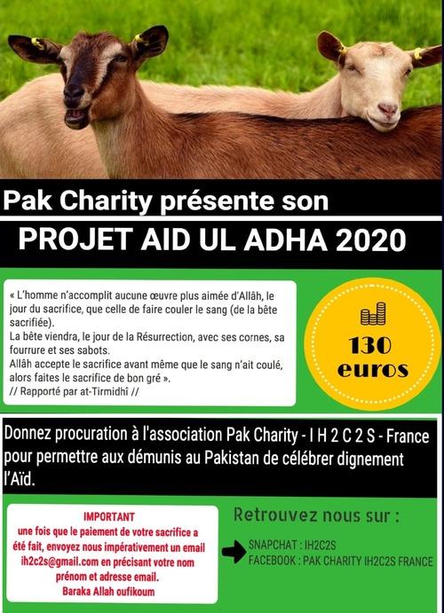 Réservez votre Sacrifice Pour la Aid ul Adha 2020