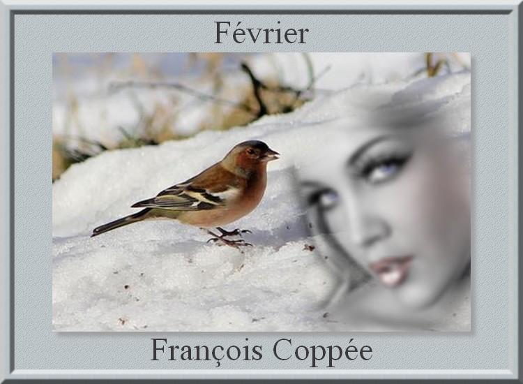 """"""" Février """" poème de François Coppée"""