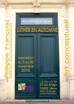 expo Luther en automne