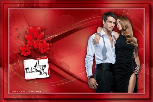 Happy Valentine's day de Leni Diniz