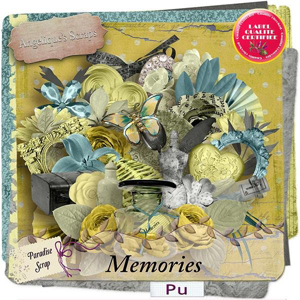 Memories de Angelique's Scraps