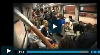 Qui a dit que le métro bruxellois n'était pas rigolo !?!