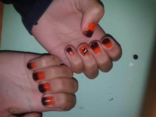 Nail Art Halloween ♠