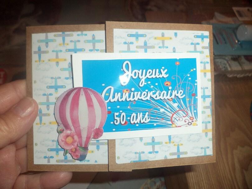 Carte anniversaire et 94 ième photos...