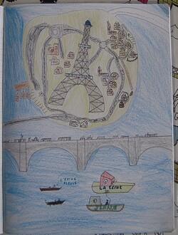 Paris en Poésie et en dessin
