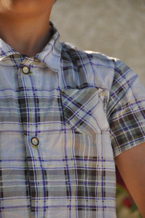 Une chemisette pour le grand