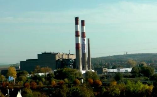 Démolition des cheminées de la centrale EDF de Richemont