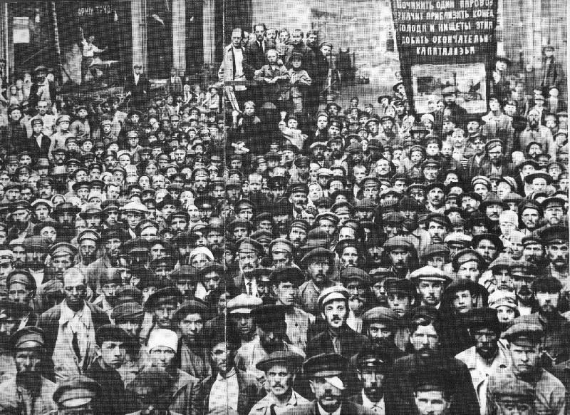 les exploités en octobre 1917