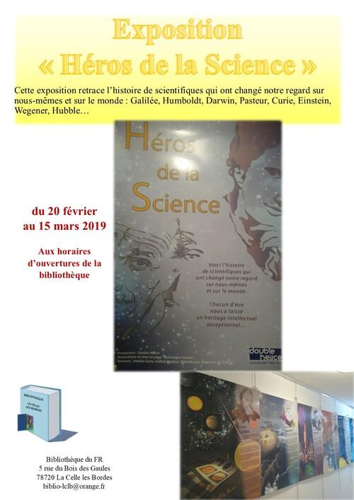 Expo Les Héros de la Science