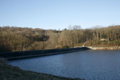Retenue de l'étang de Saint-Sernin-du-bois