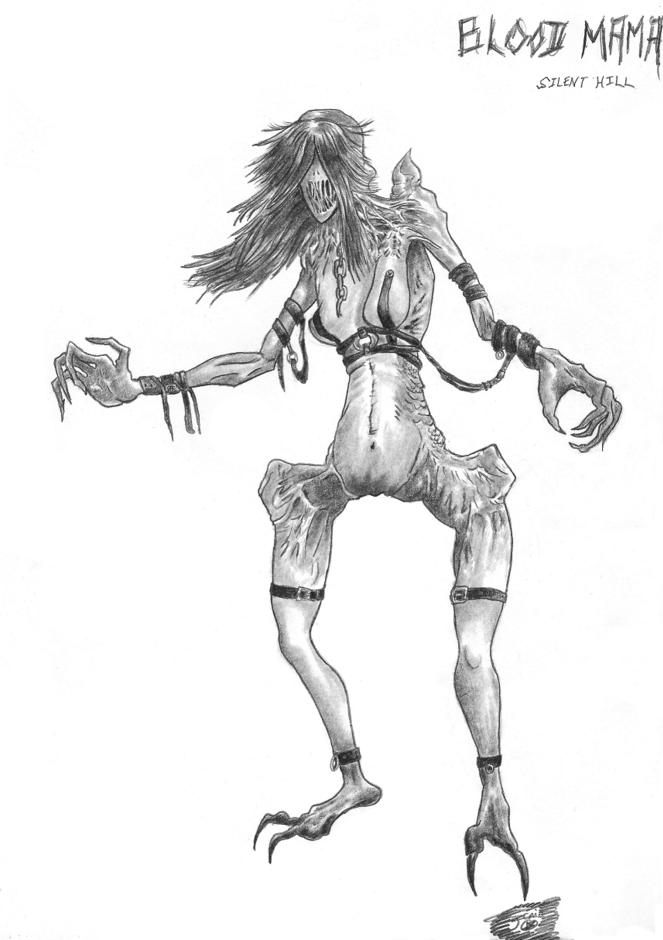 Le gardien du sang, forme ultime