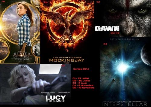 2014 dans les salles (2nd Semestre: Juillet - Décembre)