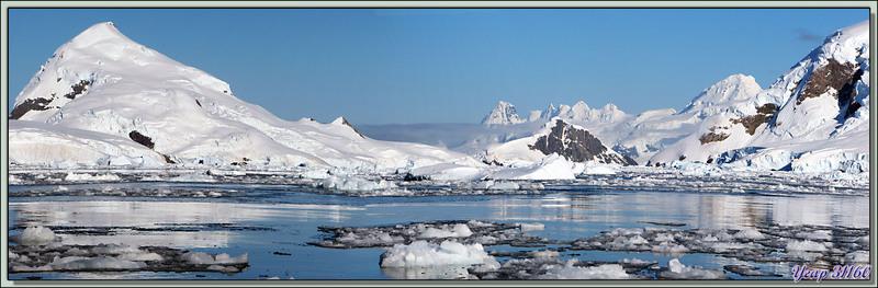 Paysages de Paradise Bay - Péninsule Antarctique