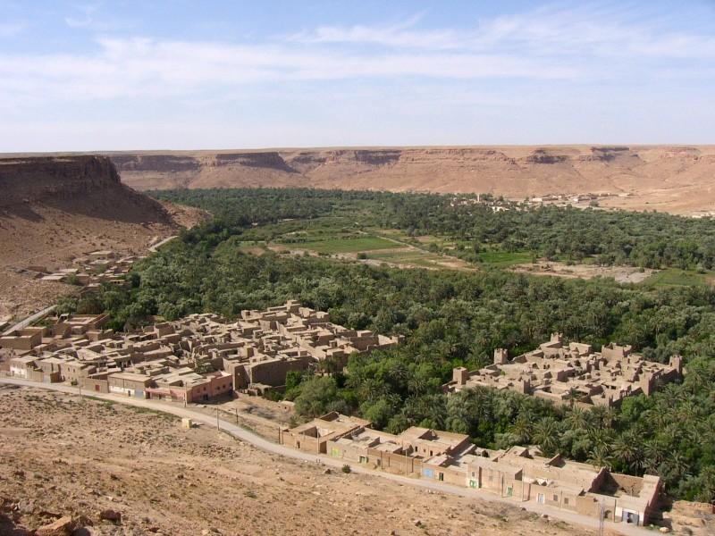 Tnnel de Zaabel - vallée du Ziz