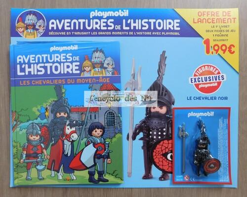 N° 1 Les aventures de l'histoire avec Playmobil  - Lancement