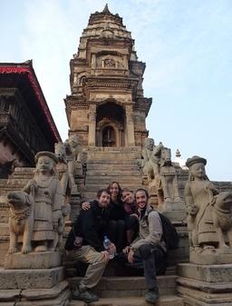 temple de Bhaktapur (Dubar square)