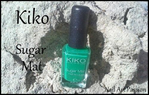 Kiko : Sugar Mat (swatch)
