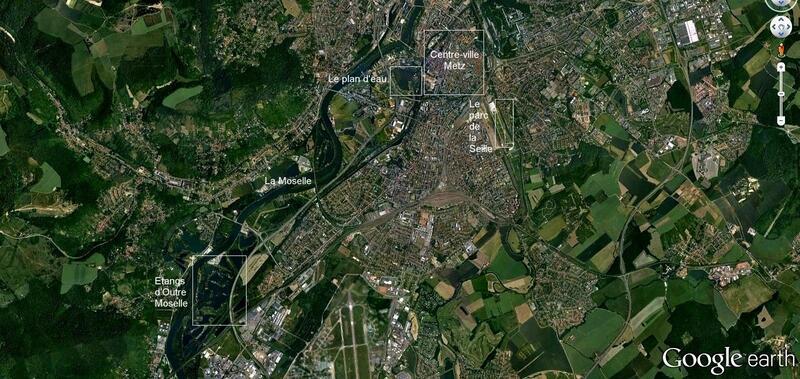 Moselle / Les étangs d'Outre-Moselle à Vaux...