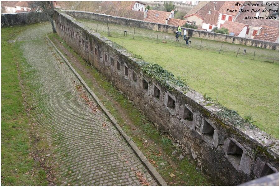 La citadelle St Jean Pied de Port - Mendiguren